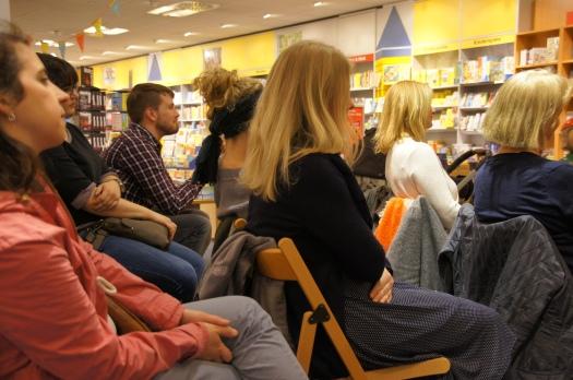 Lesung im Hugendubel in Mainz